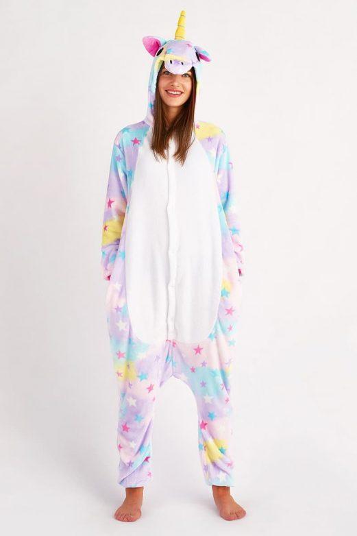 пижама Кигуруми Звездный Единорог