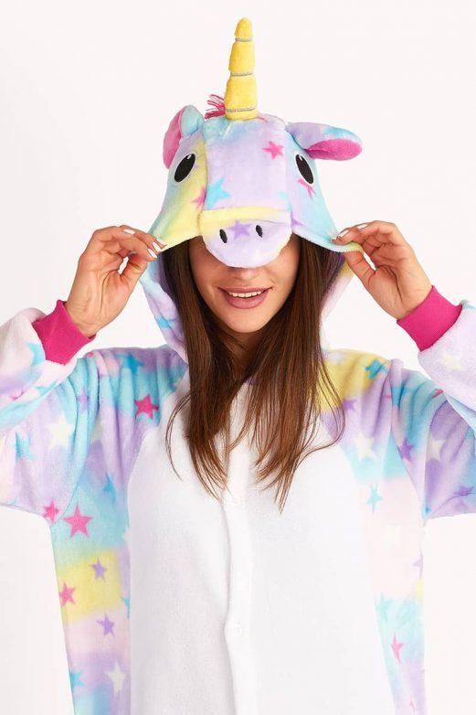 пижама звездный единорог