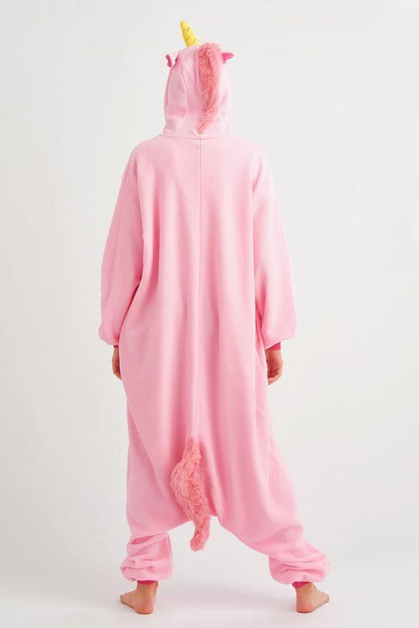 пижама розовый единорог
