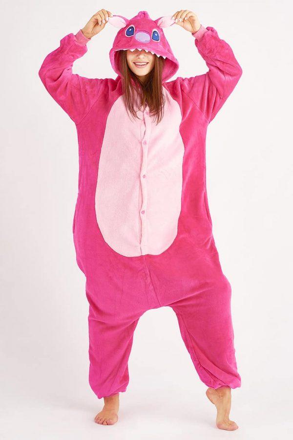 кигуруми стич розовый