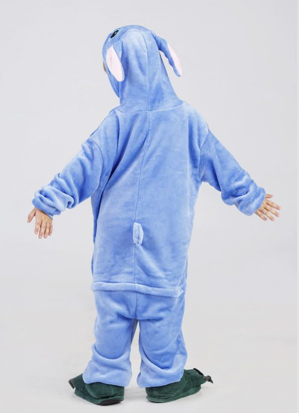 пижама кигуруми стич для детей