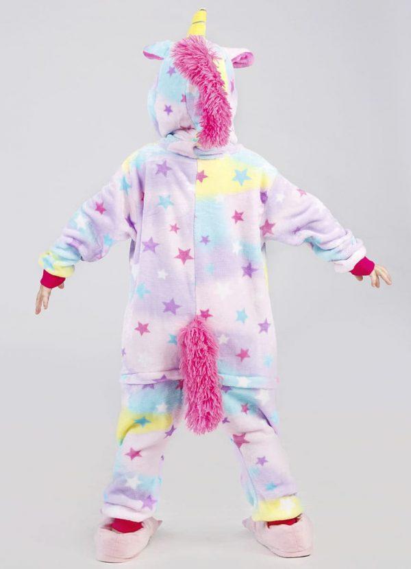Детская пижама звездный единорог