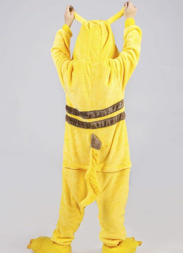 пижама кигуруми пикачу для детей