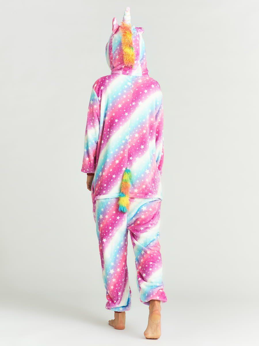 пижама для взрослых космический единорог