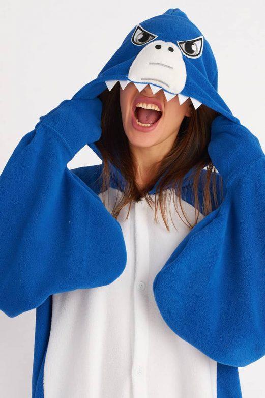 кигуруми акула для взрослых