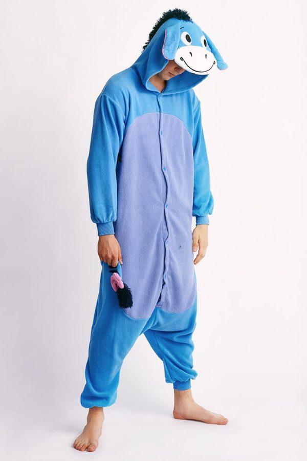 пижама ослик-иа для взрослых