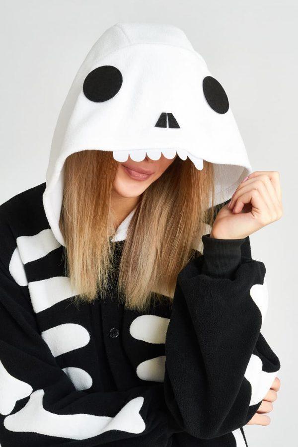 пижама скелета