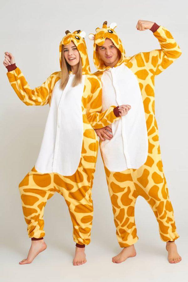 кигуруми жирафа для взрослых