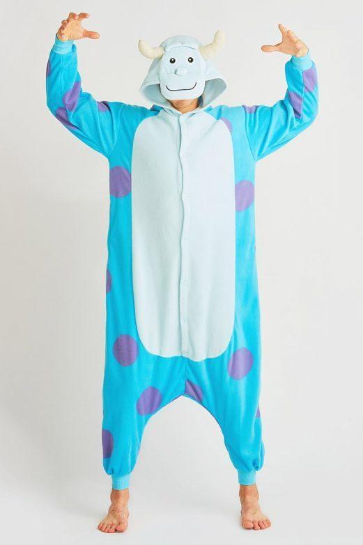 пижама монстр-салли