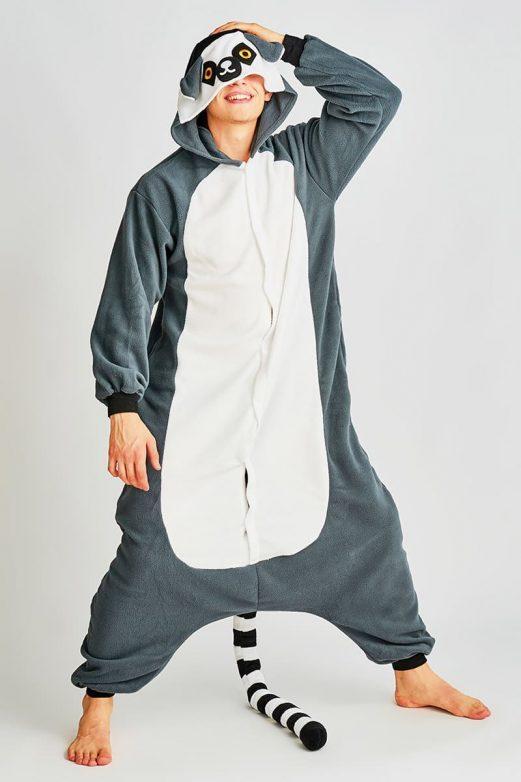 пижама лемур