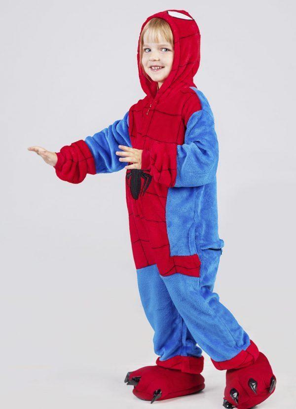 костюм человек паук детский