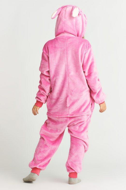 костюм стич розовый