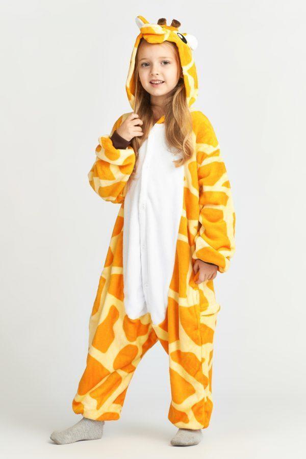 кигуруми жираф детский