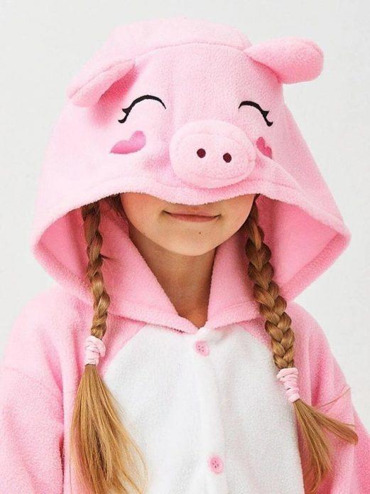костюм свинки детский